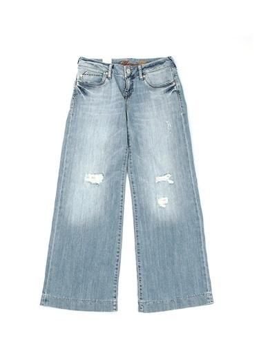 Mavi Pantolon Renksiz